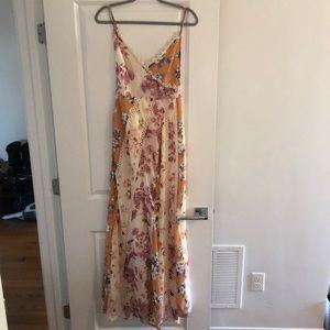 ASOS mixed floral maxi dress 4